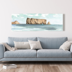 Canvas 20 x 60 - Rocher percé