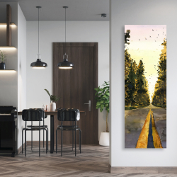 Canvas 20 x 60 - Long road