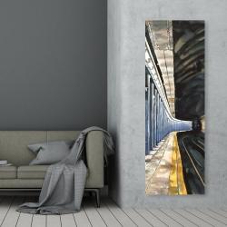 Canvas 20 x 60 - New-york subway
