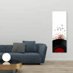 Canvas 20 x 60 - Notes from a vinyl record