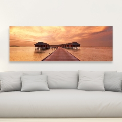 Canvas 20 x 60 - Sea villas