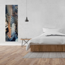 Canvas 20 x 60 - Chrysler building at nyc