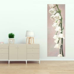 Canvas 20 x 60 - Lily of the valley flowers