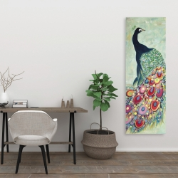 Canvas 20 x 60 - Proud as a peacock