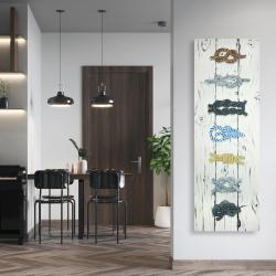 Canvas 20 x 60 - Marine knots