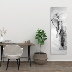 Canvas 20 x 60 - Great elephant