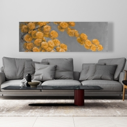 Canvas 20 x 60 - Golden wattle plant