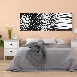 Canvas 20 x 60 - Gerbera flower