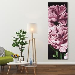 Canvas 20 x 60 - Pink peonies