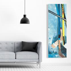 Canvas 20 x 60 - Hockey sticks