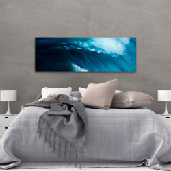 Canvas 20 x 60 - Unleashed sea