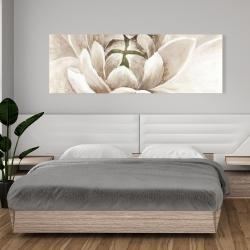 Canvas 20 x 60 - Delicate chrysanthemum