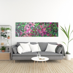 Canvas 20 x 60 - Cherry tree blooming