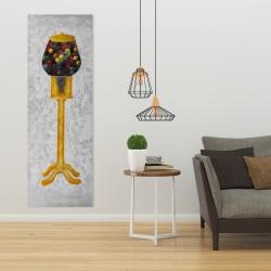Canvas 20 x 60 - Yellow gum dispenser