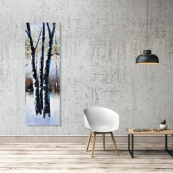 Canvas 20 x 60 - Frosted trees