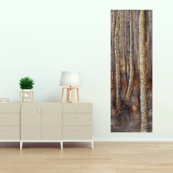 Canvas 20 x 60 - The dark forest