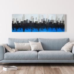 Canvas 20 x 60 - Blue city