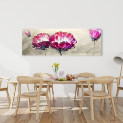 Canvas 20 x 60 - Two wild flowers