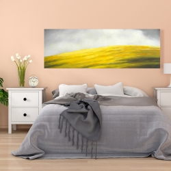 Canvas 20 x 60 - Yellow hill