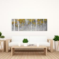 Canvas 20 x 60 - Birch forest