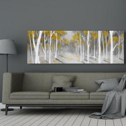 Canvas 20 x 60 - Yellow birch forest