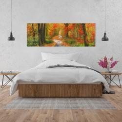 Canvas 20 x 60 - Autumn trail