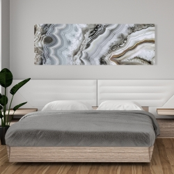 Canvas 20 x 60 - Abstract geode