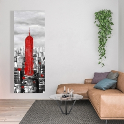 Canvas 20 x 60 - Empire state building of new york