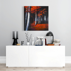 Canvas 24 x 24 - Mysterious forest
