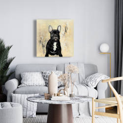 Canvas 24 x 24 - French bulldog