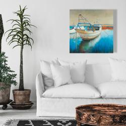 Toile 24 x 24 - Bateau de pêche