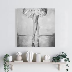 Canvas 24 x 24 - Ballet classic steps