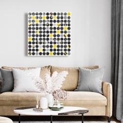 Canvas 24 x 24 - Grunge circles