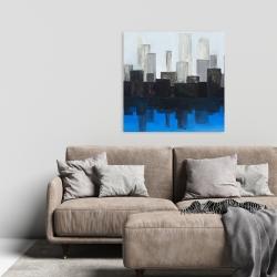 Canvas 24 x 24 - Blue city