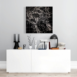 Canvas 24 x 24 - Old maritime maps