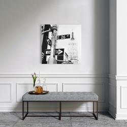 Canvas 24 x 24 - New york city street signs