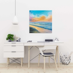 Canvas 24 x 24 - Breathtaking tropical sunset
