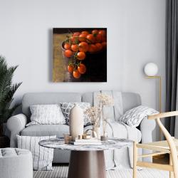 Canvas 24 x 24 - Bucket of cherry tomatoes