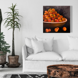 Canvas 24 x 24 - Bowl of cherry tomatoes