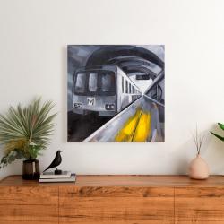 Canvas 24 x 24 - Subway