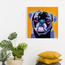 Canvas 24 x 24 - Flash the pug