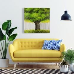 Canvas 24 x 24 - Big green tree