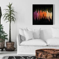 Canvas 24 x 24 - Colorful carrots