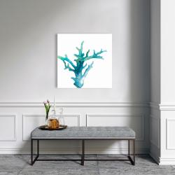 Canvas 24 x 24 - Watercolor sea coral
