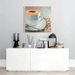 Canvas 24 x 24 - Cappuccino time