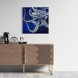 Canvas 24 x 24 - Dancing octopus