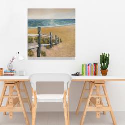 Canvas 24 x 24 - Quiet seaside