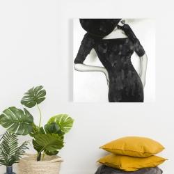 Canvas 24 x 24 - Beautiful classic woman