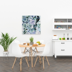 Canvas 24 x 24 - Hydrangea plant