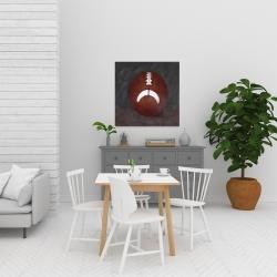 Canvas 24 x 24 - Football ball